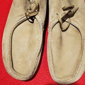 Mens Clark's Wallabee shoes 13m